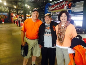 Ken and Darlene drove from Illinois to see the game and will be going on to Pittsburgh.