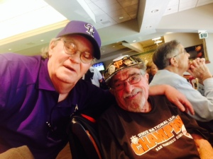 Two longtime baseball fans share a love of the game