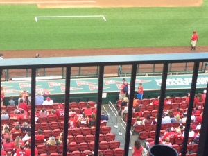 All world series years a top the Cards dugout