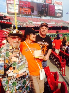 Fellow diehard Giants fans swapped stories with Bert