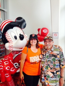 At Reds hall of fame