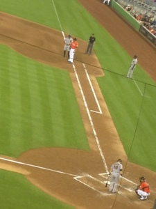 Hunter Pence and Scutaro get on base so Buster could bring them home.