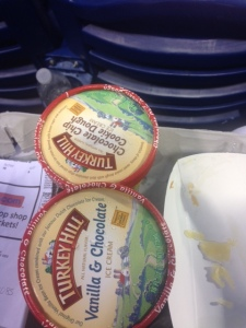 I would rank the Turkey Hill ice cream average