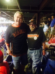 Bert and a fellow Giants fan discuss the 81 trip.