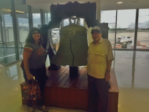 Liberty Bell of Lego at Philadelphia airport