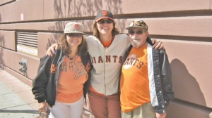 Le Anne, Mandy, and Bert in San Francisco