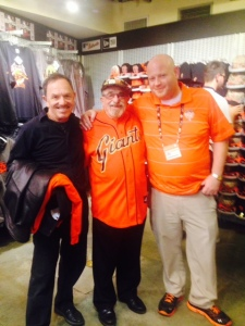 David, Bert, and Scott at the Giants 3rd street store