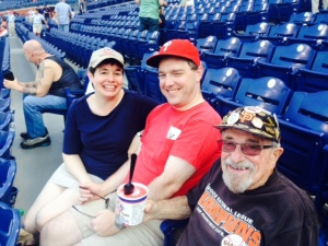 Amey, Dylan, and Bert at Citizen's Bank Field