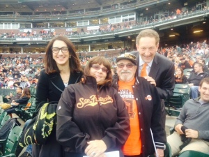 Pam and Larry Baer made this night unforgettable