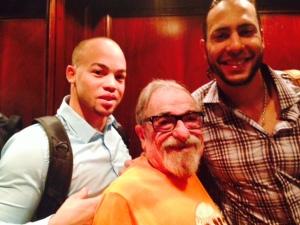 Juan Perez and Michael Morse make Bert feel like one of them
