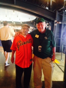 Bert and Gerry catching up on baseball history