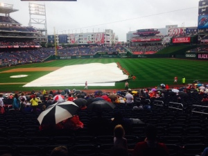 Nats ground crew knows how to tarp the field