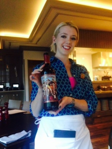 Freakshow cab served by our friendly waitress Hadley at the Hyatt