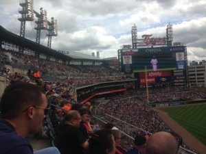 Cloudy skies game us relief from the sun
