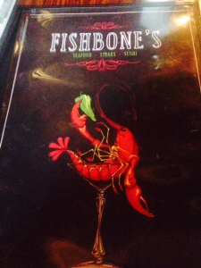 Fishbones is local, lively, and has good home cookin