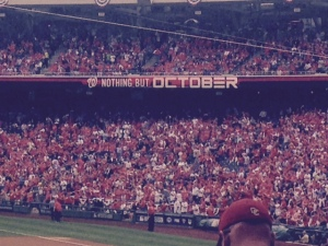 The Nats fans expected a victory