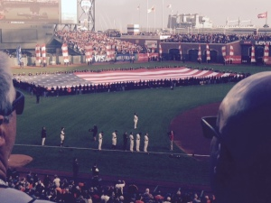 Old glory and the glorious win in game 4